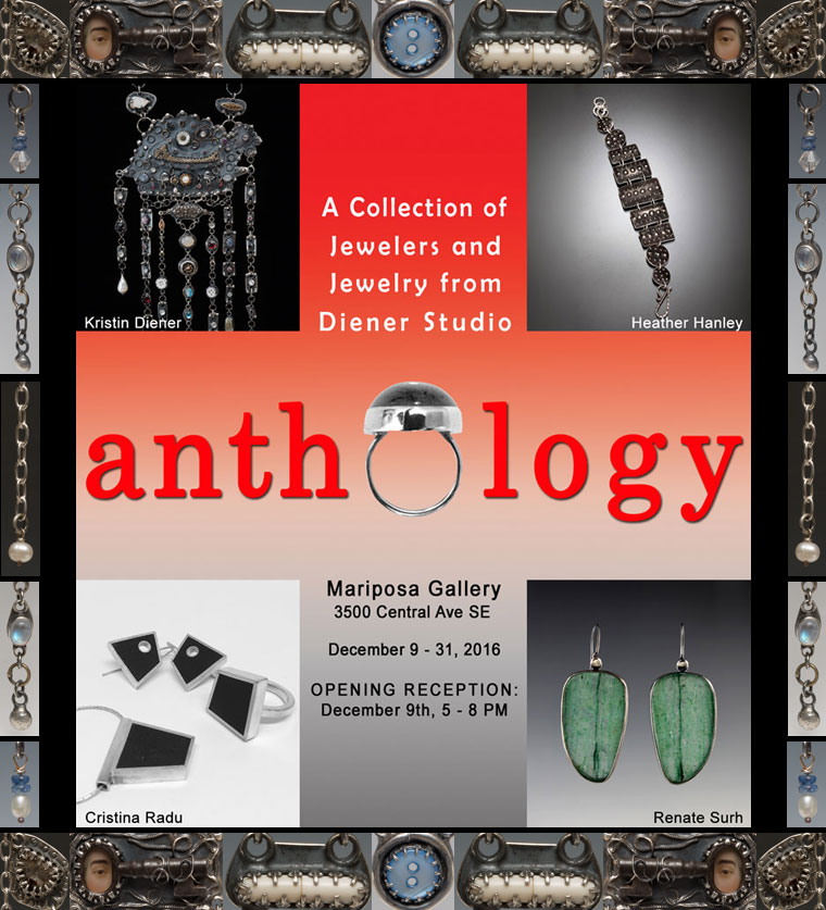 ANTHOLOGY Show at Mariposa Gallery